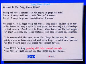 Puppy Video Config