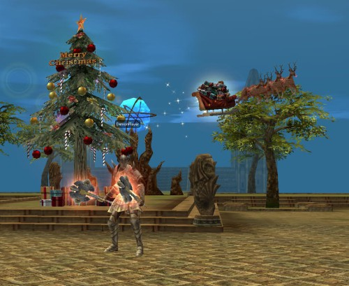 Christmas in Loa Castle