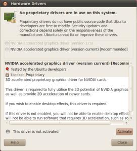 Ubuntu 10 04 – Nvidia driver install issue | Windy Weather