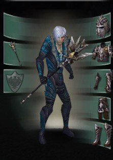 Pvp Merc with Delrimore Death Staff
