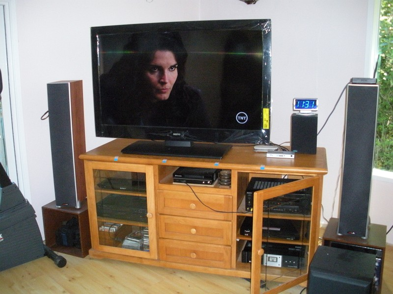 New Tv Sanyo 55 Inch Lcd Windy Weather