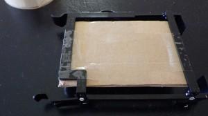 Cardboard and Tape bottom