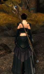 Diviner's Armor back view