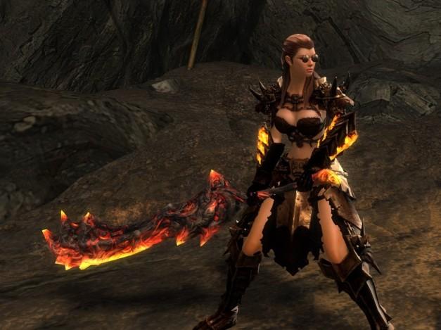 Citadel of Flame Gauntlets
