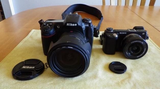 Sony Nex6 vs Nikon D300