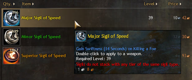 Major Sigal of Speed