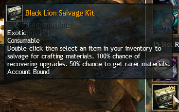 Black Lion Salvage Kit