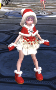 Elin in Wintera Costume