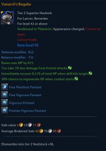 Armor Stats