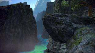 Canyon across from Amadjuak