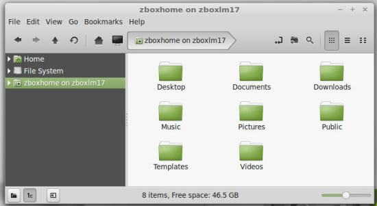 Looking from Linux VM to a Real Linux system.