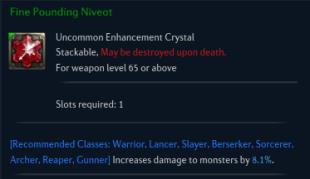 Fine Pounding Niveot