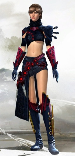 Human Cultural with Viper Skirt