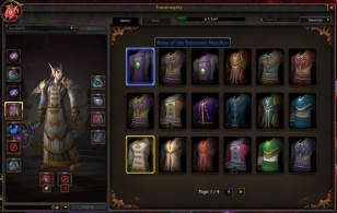 Cloth Chest Account Wide List