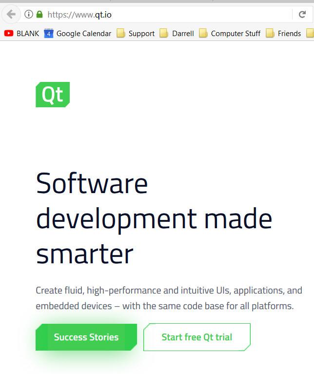 Qt Development forWindows