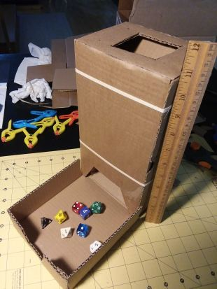 Protype Tower in Cardboard