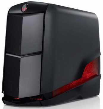 alienware aurora r2 red