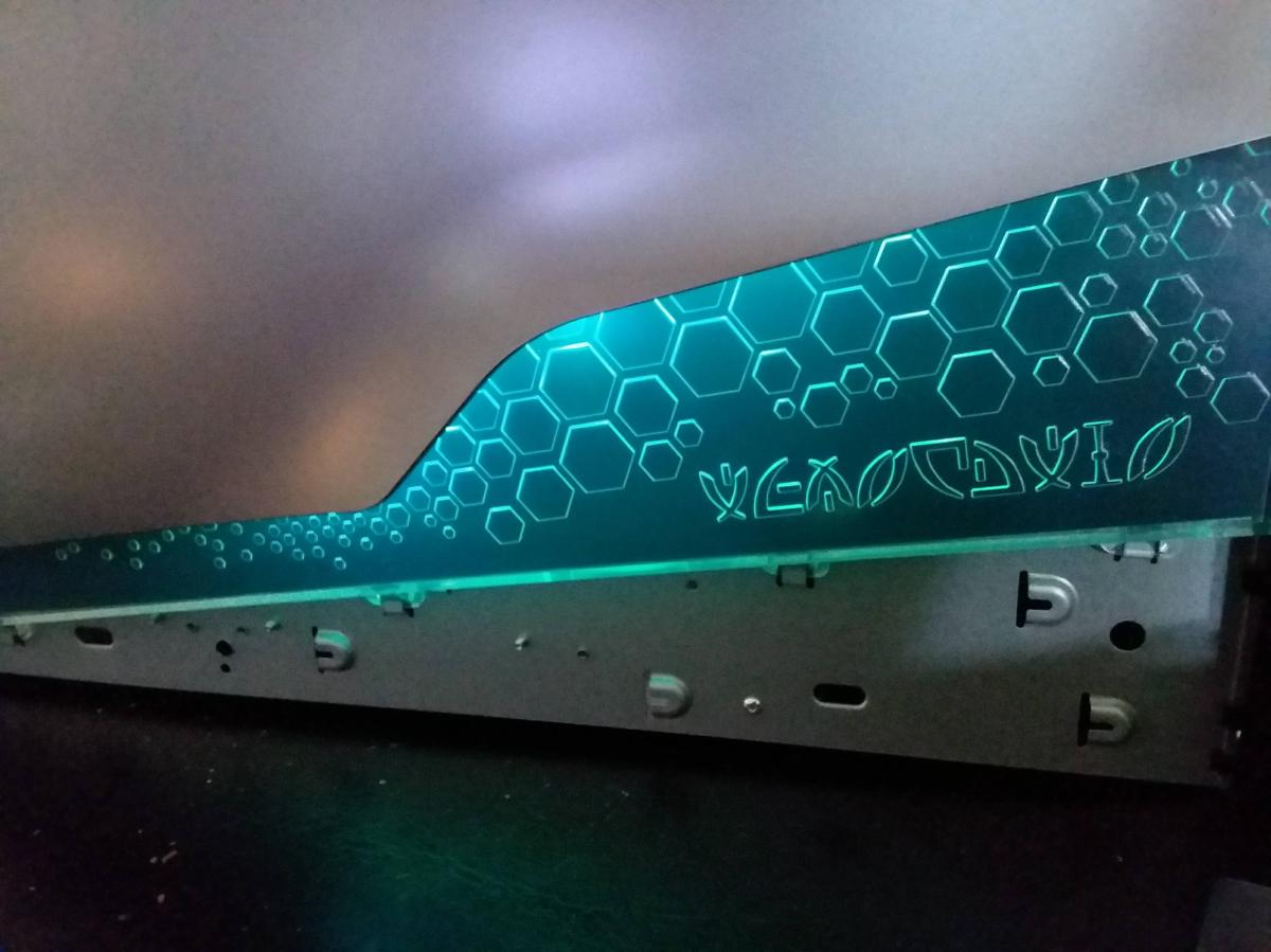 Alienware Aurora Lighting Progress
