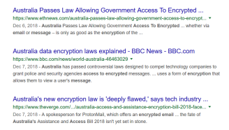Austrailia Email Access