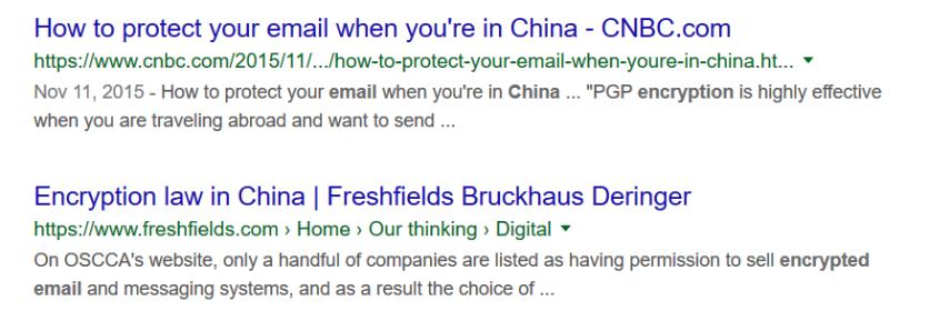China Encryption