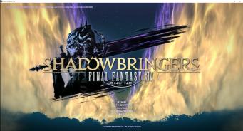 FFXIV Shadowbringers Opening Screen