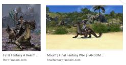 FFXIV Cavalry Drake Mount