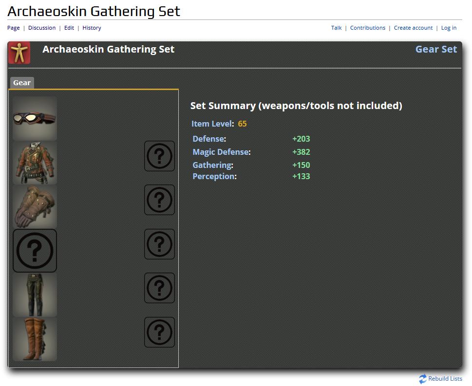 FFXIV Archaeoskin Gathering Set.png