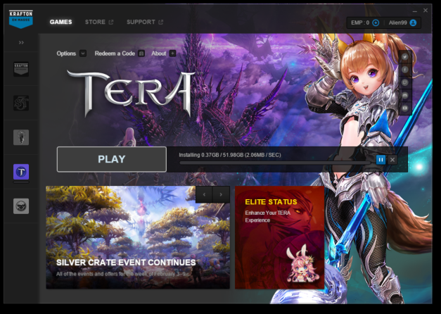 Tera New Launcher