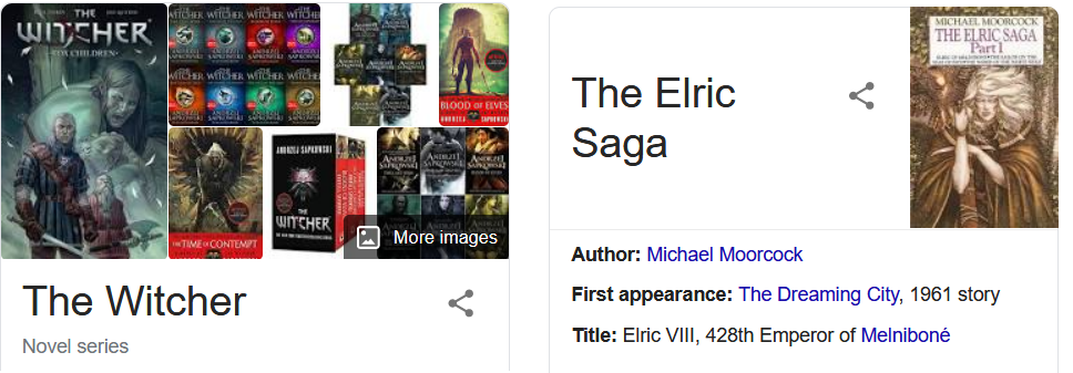 Witcher vs Elric