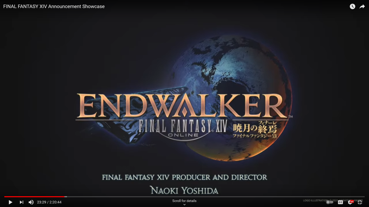 Final Fantasy XIV Announcement Showcase